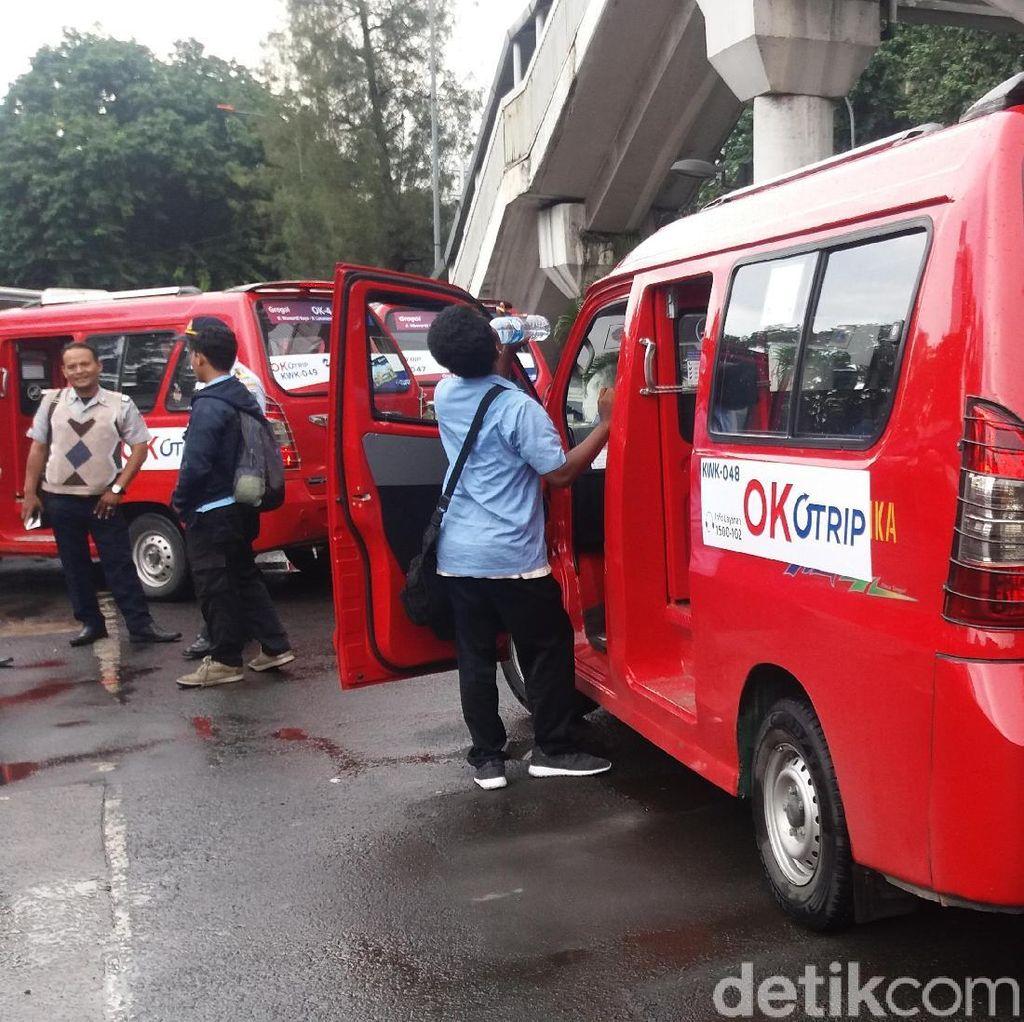 Sopir Angkot OK Otrip yang Gondrong dan Bau Ketek Bisa Didenda