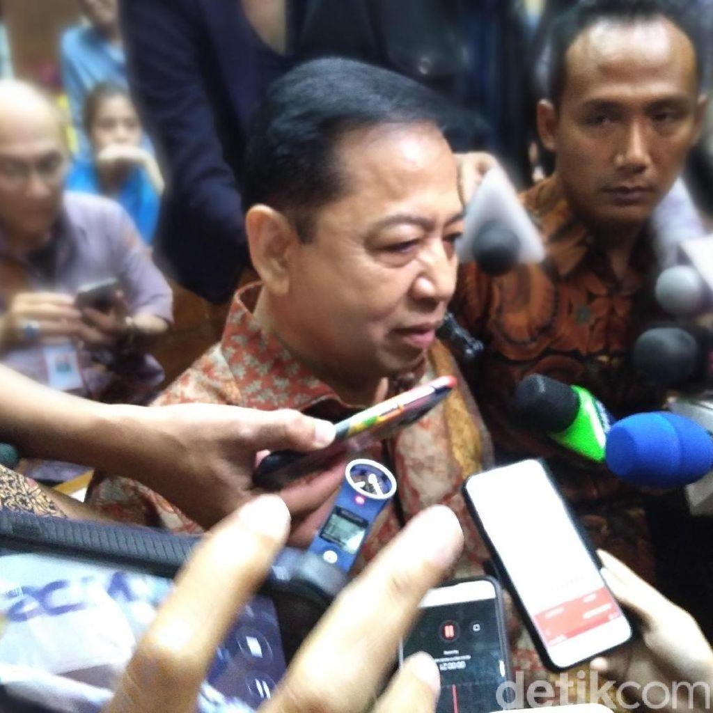 Soal Duit Lobi untuk DPR, Novanto: Andi Narogong yang Ngerti