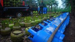 Lokasi Pengoplosan Gas di Bogor Digerebek TNI