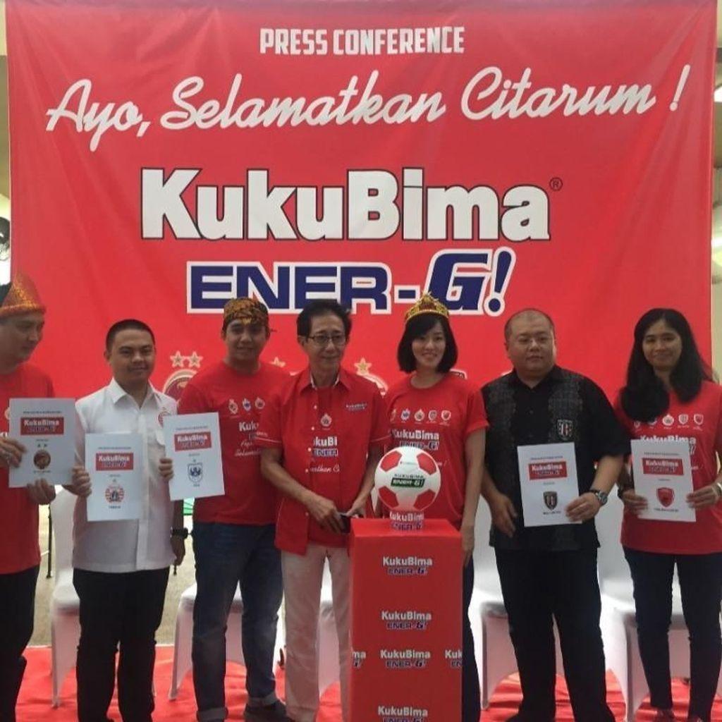 Kuku Bima Energi Jadi Sponsor Resmi 5 Klub Sepakbola Indonesia