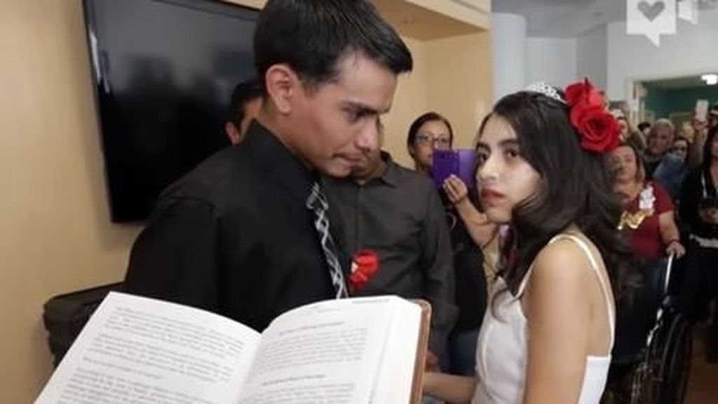 Sedih! Perempuan Ini Meninggal Karena Kanker Setelah 2 Hari Menikah