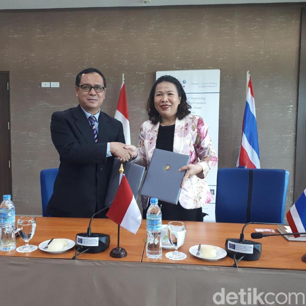 Demi Internasionalisasi, UII Gandeng Perguruan Tinggi di Thailand
