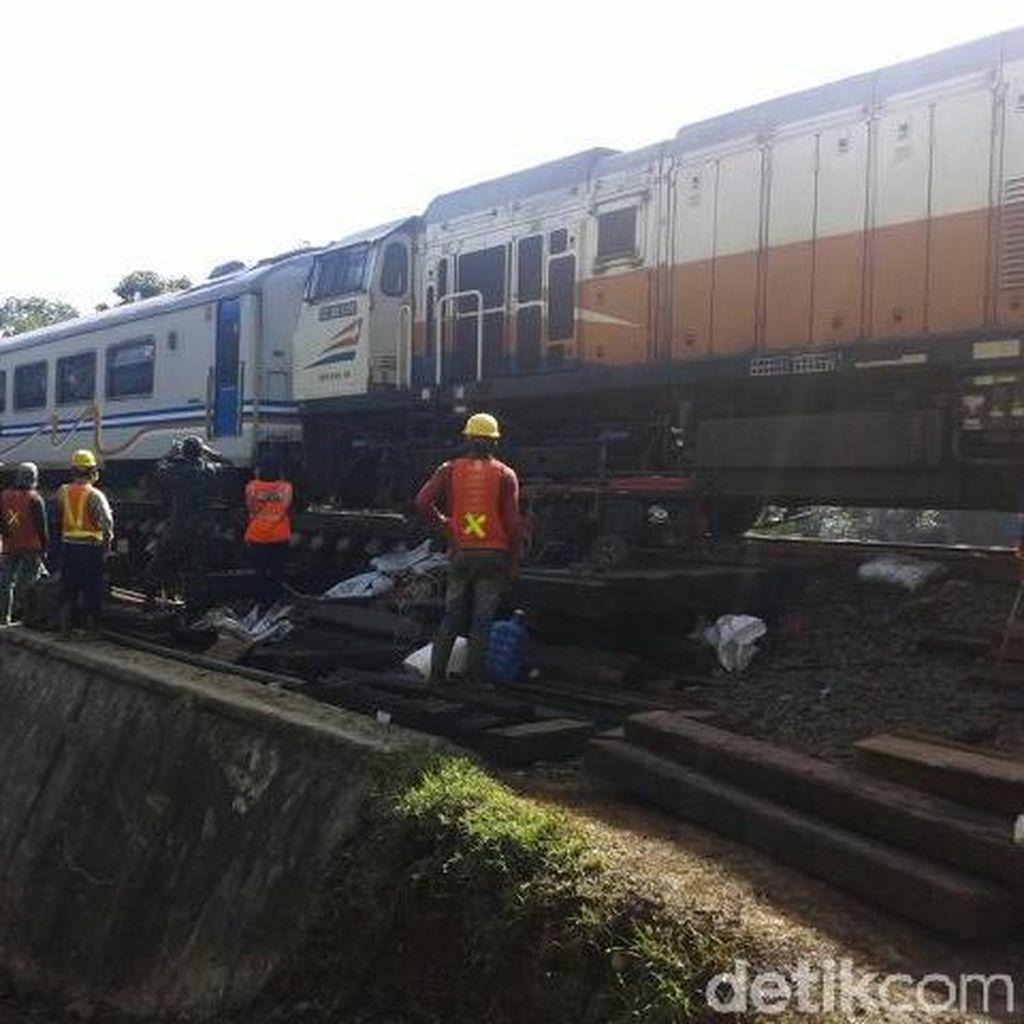 PT KAI: Jalur Rel Sukabumi-Bogor Sudah Aman untuk Dilintasi