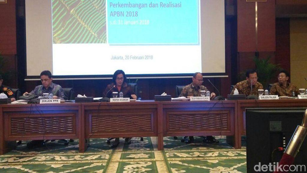 Sri Mulyani Paparkan Realisasi APBN Per Januari 2018
