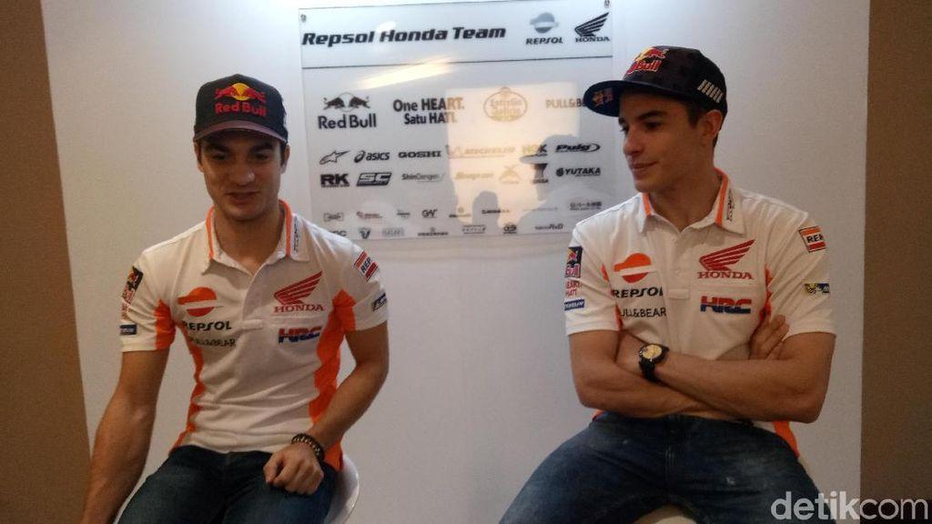 Launching Motor Baru Musim 2018, Marquez dan Pedrosa Tak Lama di Indonesia