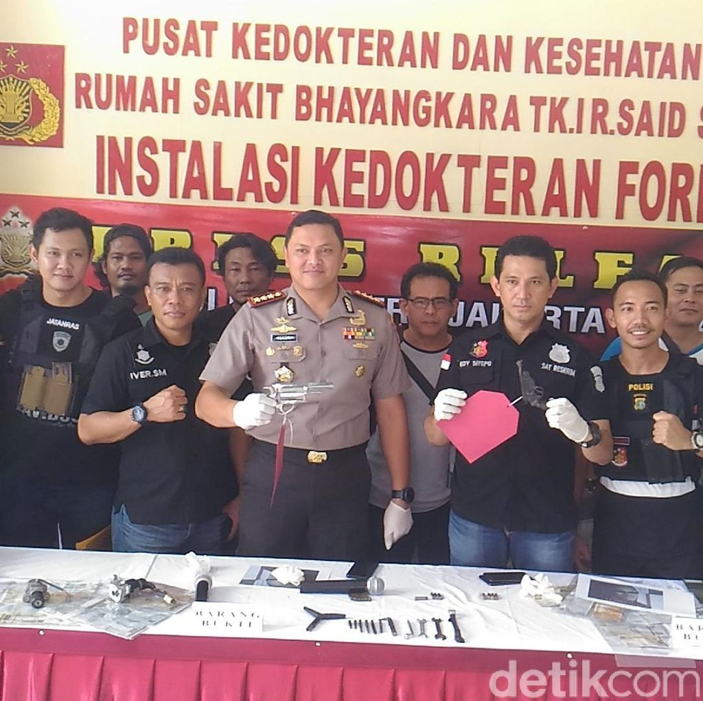 Polisi: Komplotan Curanmor Palmerah Minimal Sehari Dapat 10 Motor