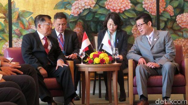 JK dan Ichro sempat membahas bisnis antara Indonesia dan Osaka