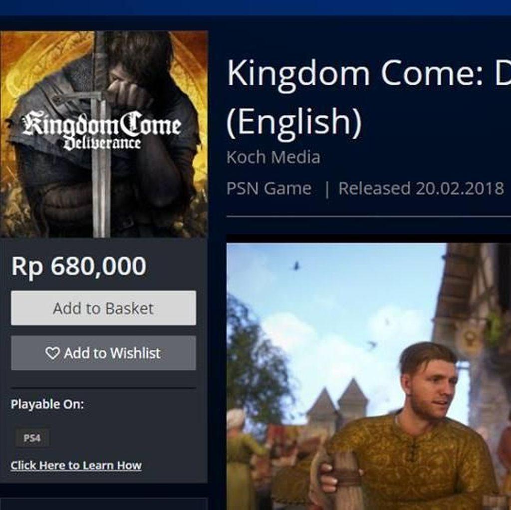 Game PlayStation 4 Dijual Rp 680 Malah Untungkan Pembuatnya