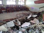 Ruang Kelas SMP di Wonosobo Hancur Diterjang Longsor