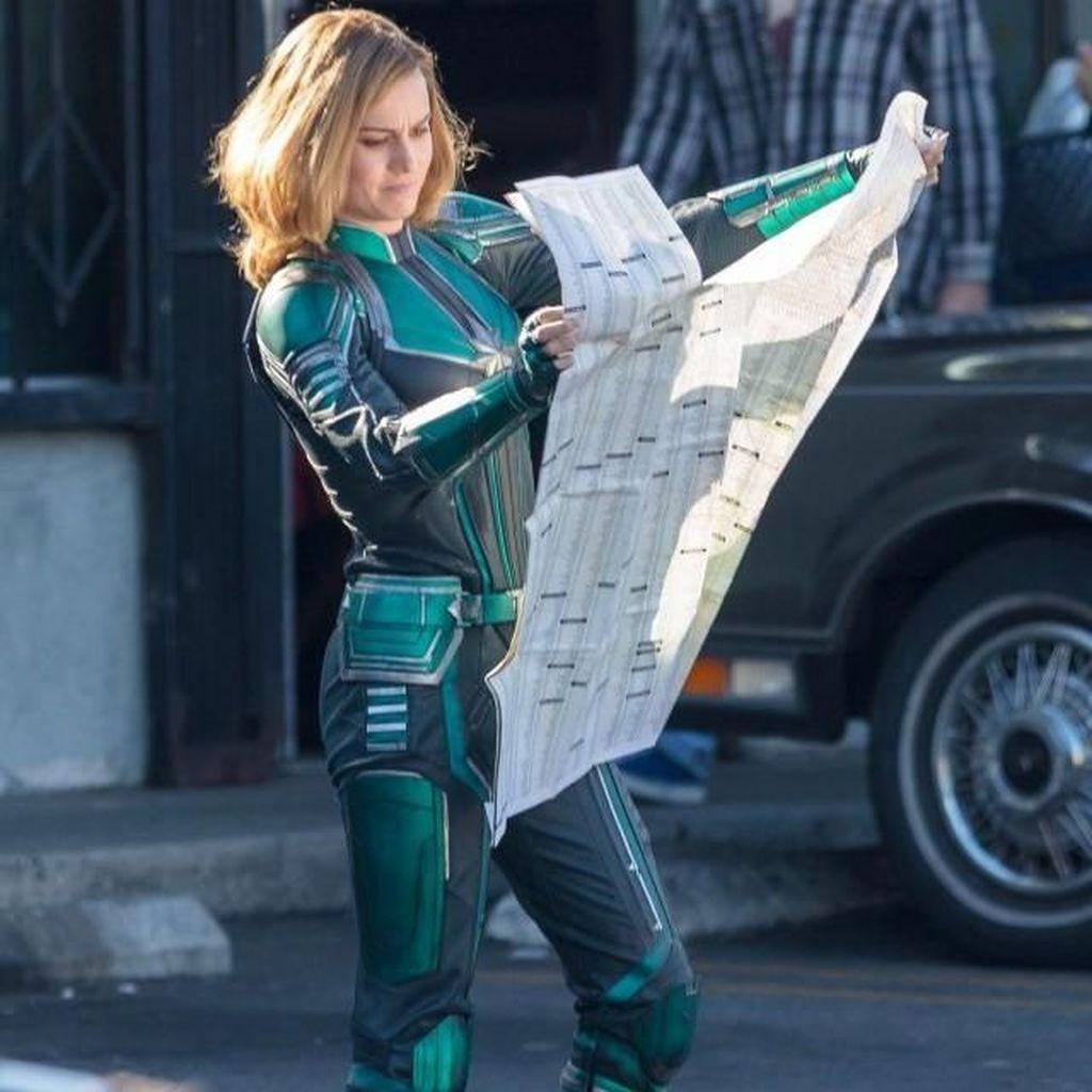 Kostum Captain Marvel Tak Bakal Seperti di Dalam Foto