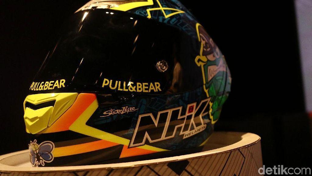 Pakai Helm Indonesia, Ini Kata Pebalap MotoGP