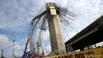 Polisi Periksa 8 Saksi soal Ambruknya Kepala Tiang Tol Becakayu