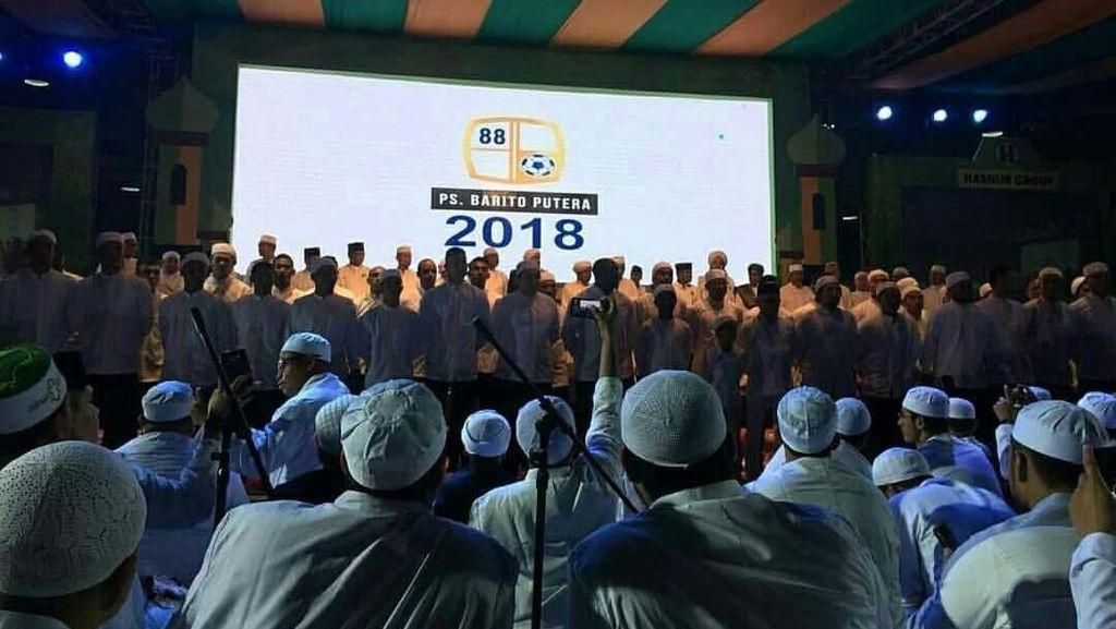 Nuansa Religi di Acara Launching Tim Barito Putera