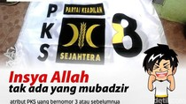Dapat Nomor Urut 8, PKS Gunakan Atribut Kampanye Pemilu 2009