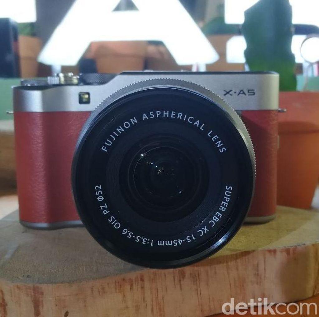 Kenalkan Ini Kamera X-A5 dari Fujifilm