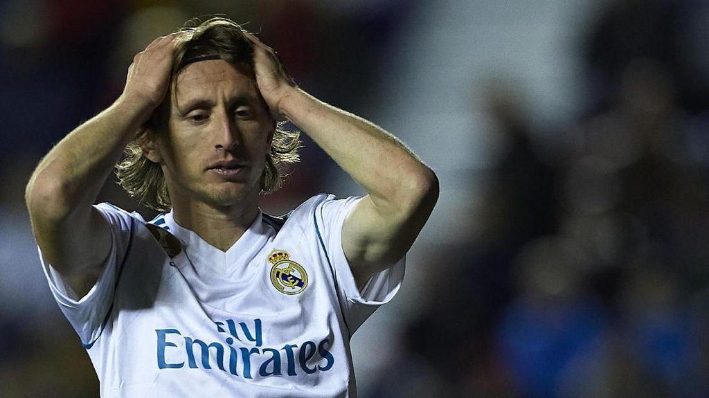 Modric Tambah Daftar Cedera Pemain Madrid