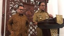 Doa Anies ke Sudirman Said: Insyaallah Kita Pakai Seragam yang Sama