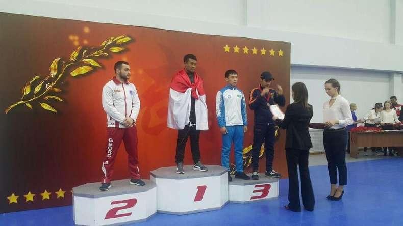 Wushu Tarung Raih 3 Emas pada Kejuaraan di Moskow