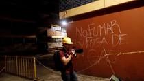 Foto: Ada Kebocoran Gas Pascagempa di Meksiko?