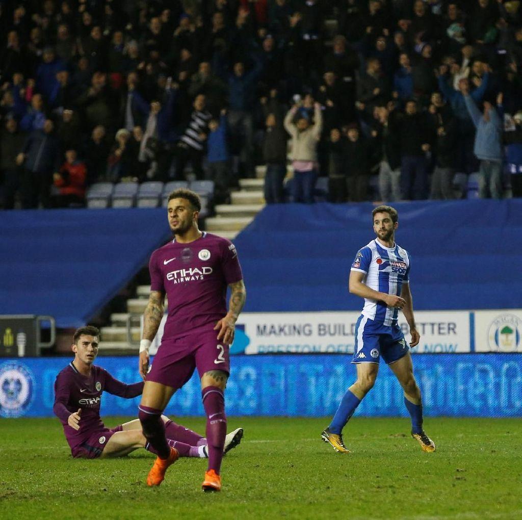 Manchester City Disingkirkan oleh Tim Divisi Tiga dari Piala FA