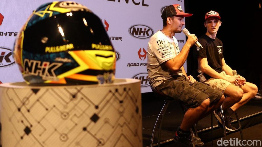 Aspek Penting di Mata Pebalap MotoGP Soal Helm Made in Citeureup