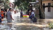 Dua Sungai di Brebes Meluap, Ratusan Rumah Terendam Banjir
