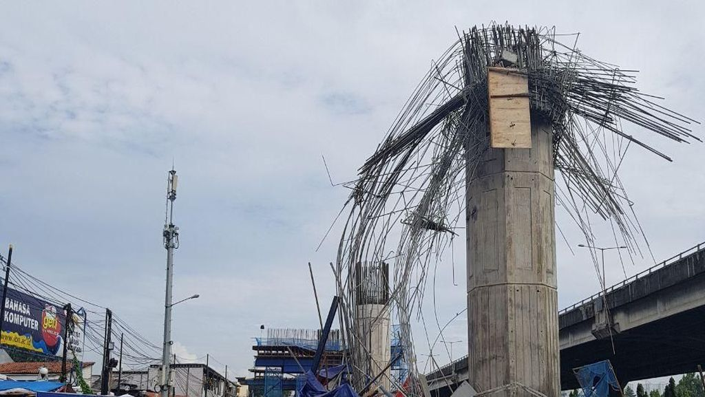 Proyek Konstruksi Layang Disetop, Bagaimana Nasib LRT Jakarta?