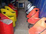 Bukan Hanya Kayu, Di Jepara Ada Furnitur dari Limbah Drum Bekas