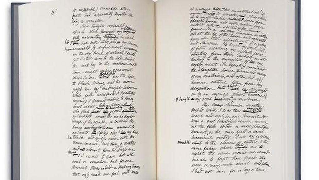 Buku Asli Frankenstein Terbit Ulang, Eksklusif Hanya 1000 Eksemplar di Dunia