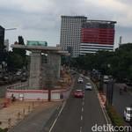 Proyek Konstruksi Elevated Disetop, LRT Jabodebek Berhenti?