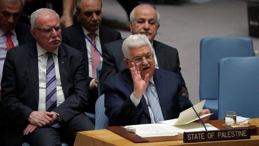 Pidato Langka di DK PBB, Abbas Serukan Konferensi Internasional