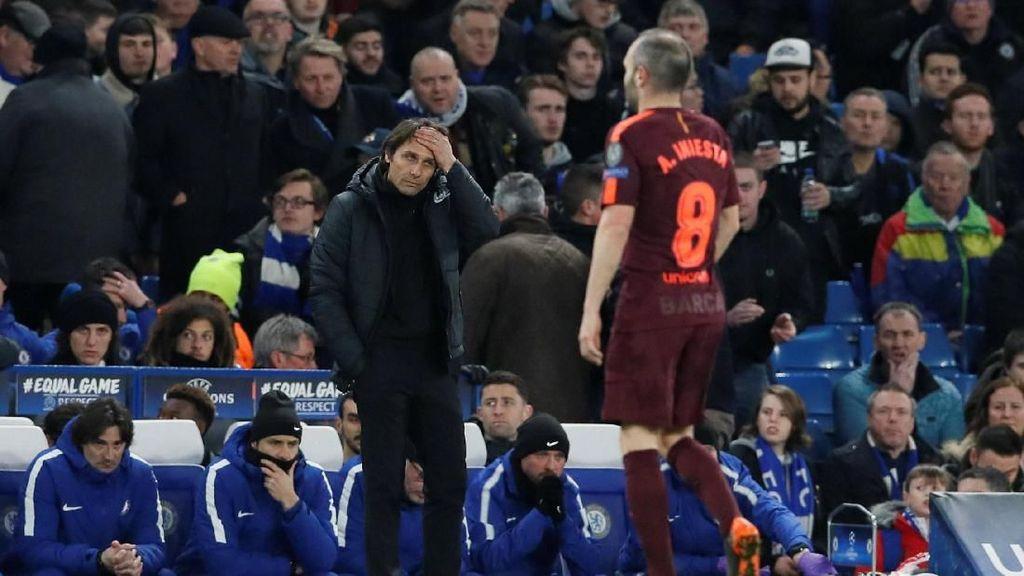 Conte Siapkan Rencana Cerdas agar Chelsea Tak Jadi Bulan-bulanan di Camp Nou