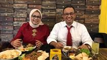 Gaya Anies Baswedan Cicipi Makanan hingga Pasangan Jevin-Rinni Saat Kulineran