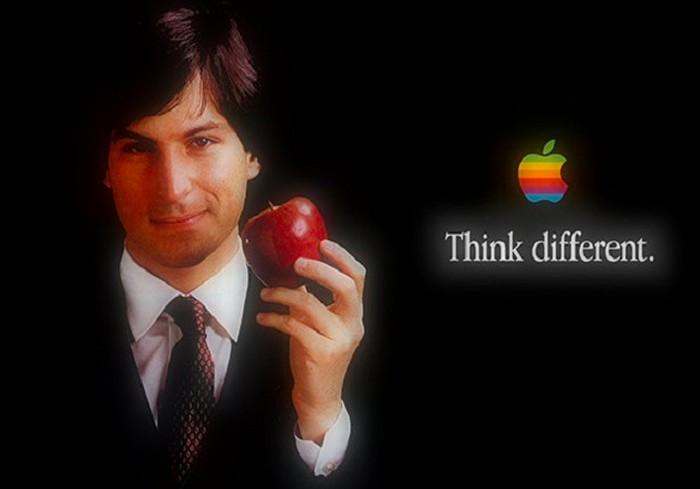 Logo pelangi Apple. Foto: istimewa