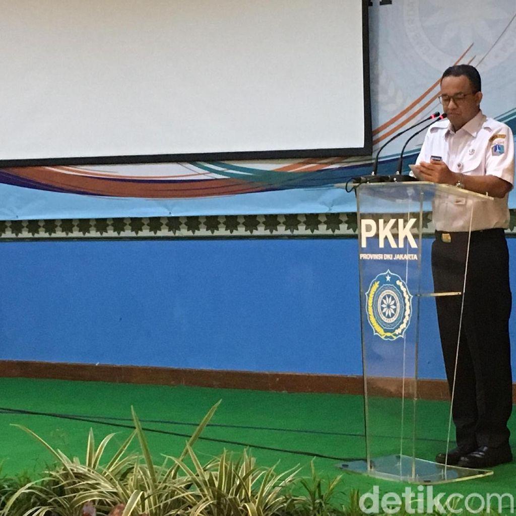 Anies: Jakarta Harus Punya Program Pemberdayaan Keluarga yang Maju