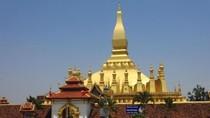 Bukan Thailand, Ini Pagoda Emas di Laos