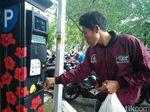 Pengunjung Taman Bungkul tentang Parkir Meter: Enak dan Ndak Ribet