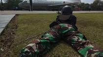 TNI AU Simulasi Turunkan Paksa Pesawat Asing yang Melintas Tanpa Izin