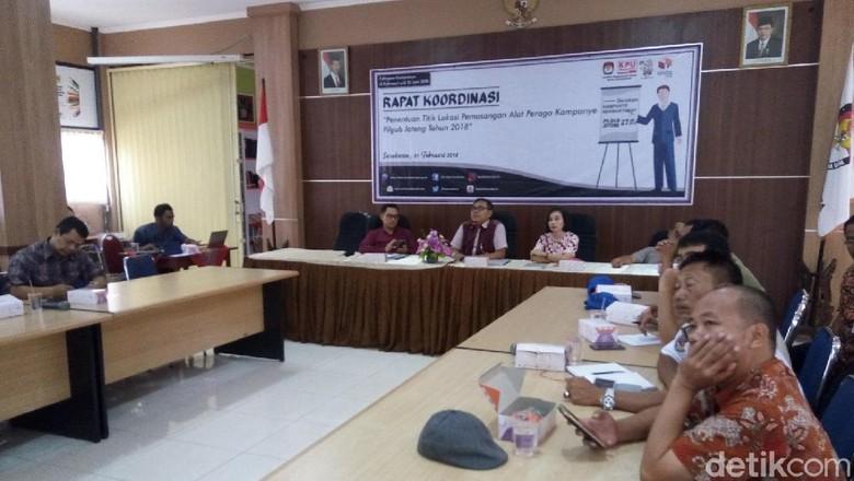 KPU Surakarta Sediakan 15 Titik Pemasangan Baliho Pilgub