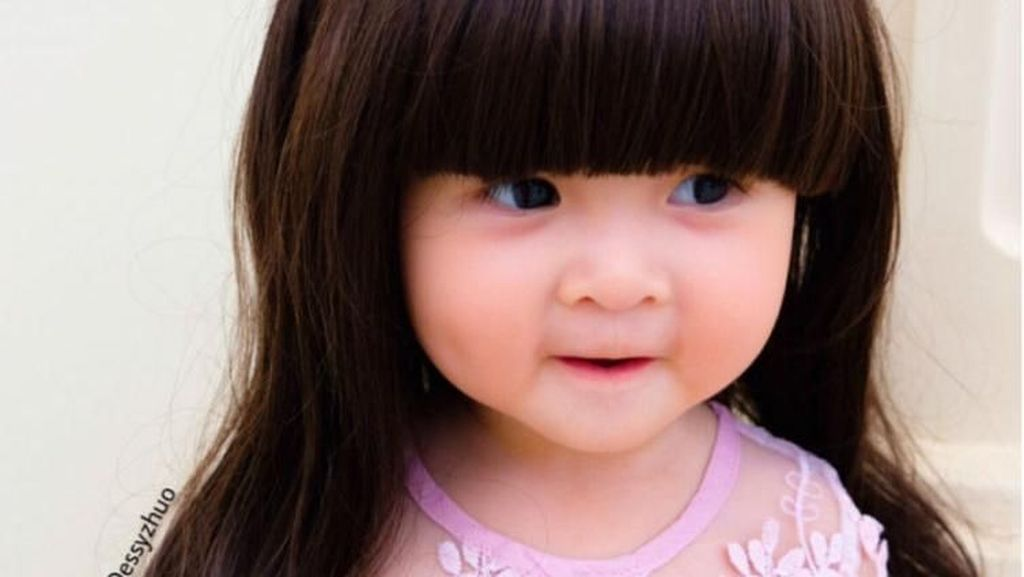 Foto: Lucunya Crystabelle, Selebgram Cilik Mirip Barbie yang Suka Pakai Wig