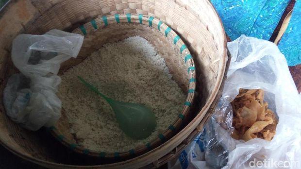 Nasi jagung yang mengenyangkan
