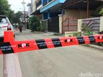 #NovelKembali, Jalan Depan Rumah Novel Baswedan Dipasang KPK Line