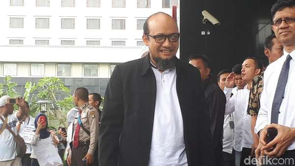 #NovelKembali, Laode Syarif: Kapolda Jawab WA, Tim Masih Bekerja