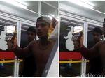 Seram, Aksi Pria Ancam Pegawai Minimarket Terekam Kamera Ponsel