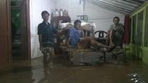 Rumah-rumah Warga di Probolinggo Ikut Terendam Banjir