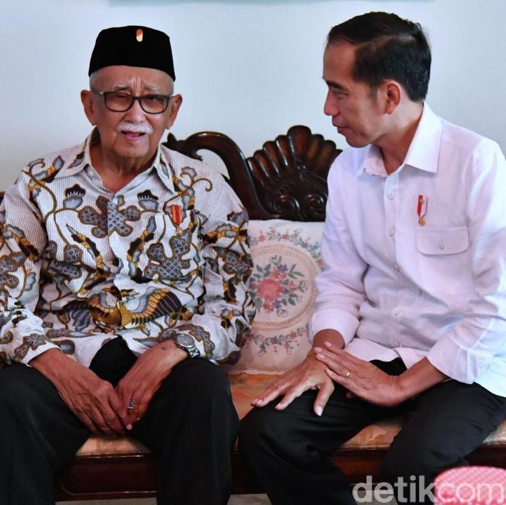 Foto: Saat Jokowi dan Mang Ihin Bahas Citarum Hingga Pilkada