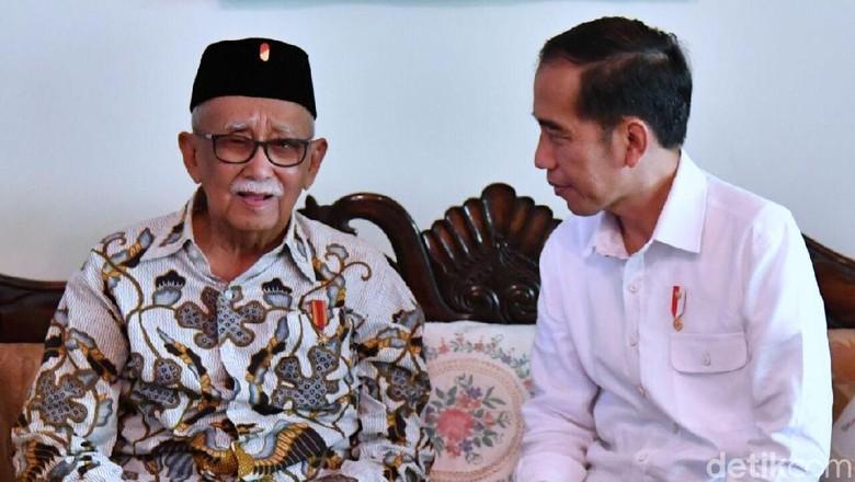 Jokowi Temui Solihin GP Bahas Pilkada Jabar hingga Citarum