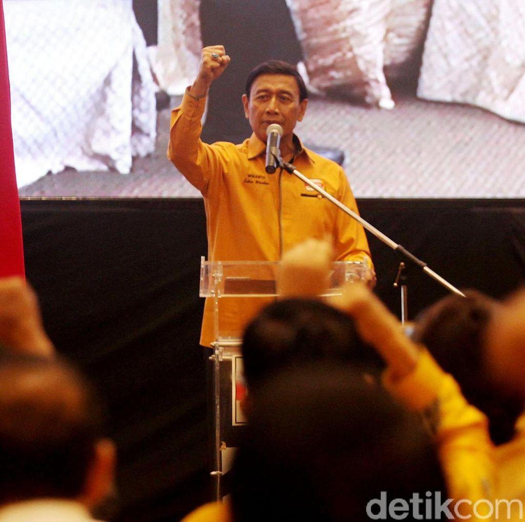 Bantah Jual Beli Partai, Wiranto: Saya Tak Pernah Minta Uang ke OSO
