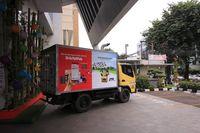 Bukalapak dan JNE bekerja sama mengoptimalkan layanan pengiriman barang besar lewat JNE Trucking (Foto: dok. JNE)