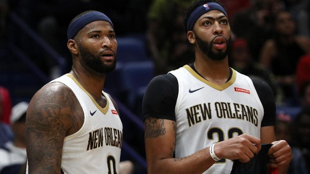 Andai Cousins Tak Cedera, Pelicans Berpotensi ke Final NBA